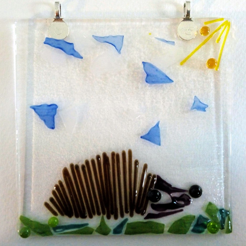 Fused glass mosaic workshop Bristol