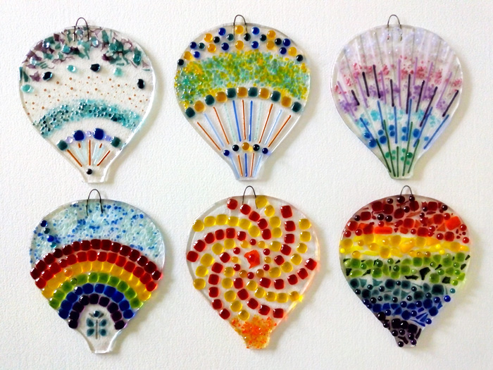 Bristol hot air balloon fused glass workshop