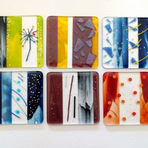 Fused glass coaster workshop