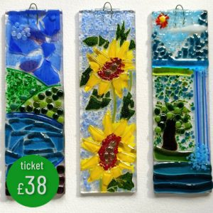 Fused Glass Sun Catcher workshop