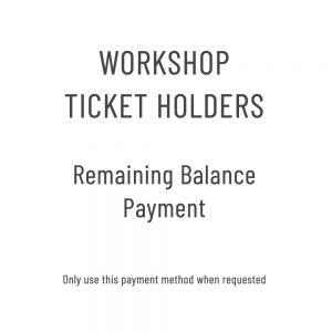 Workshop-balance
