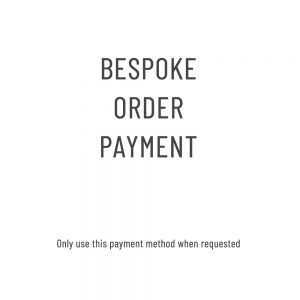 Bespoke Order Payment