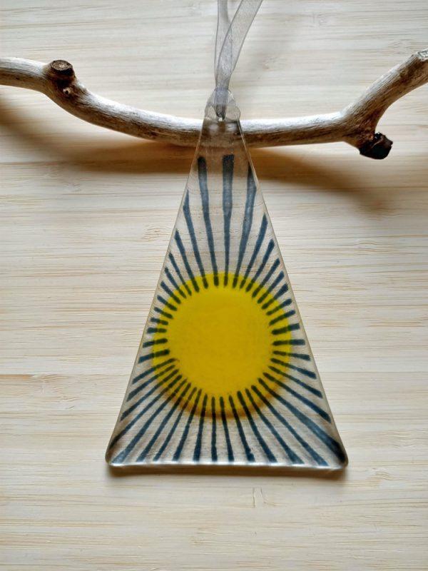 Fused Glass Sun Catcher