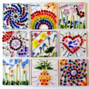 Children's mosaic