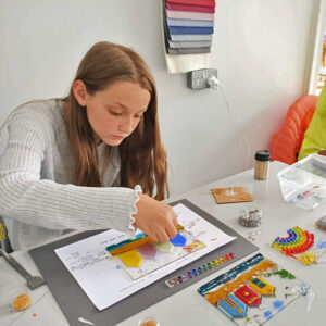 childrens fused glass workshop